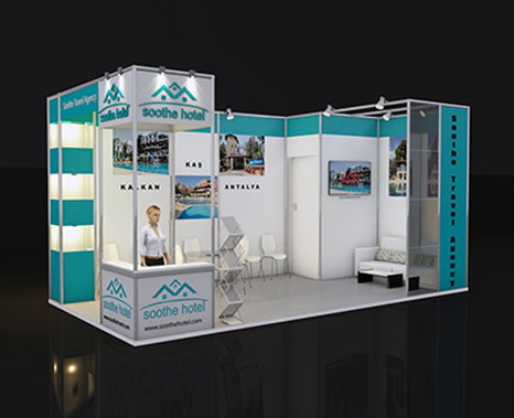 exhibition stand models, fair stand design